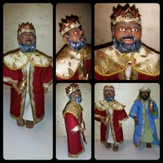 1:12 scale doll I made tor a christmas crib, this is one of the three wise men