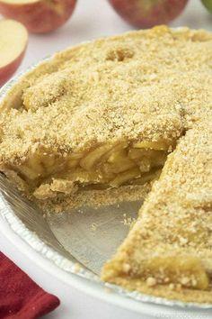 Easy Pie Recipes, Apple Pie Recipes, Baking Recipes, Dessert Recipes, Desserts, Homemade Apple Pie Filling, Homemade Graham Crackers, Graham Cracker Crust, Baked Apples