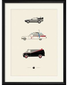 Rear View Prints is a series of the worlds most Iconic & Classic Cars printed by designer Patrick Redmond, based in Soho London.