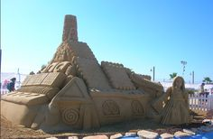 Literary Sand Sculptures