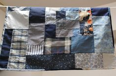 How to sew a patchwork furoshiki. I like this tutorial the most. I must make one a day!