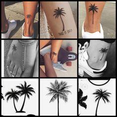 Palm trees tattoo inspiration