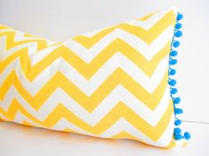 Mustard Yellow Pillow Cover Decorative Pillow by CityGirlsDecor, $30.00