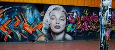 Otra x Marilyn... Barrio Bellavista - Chile Chile, Graffiti, Street, My Style, Painting, Art, Art Background, Chili Powder, Painting Art