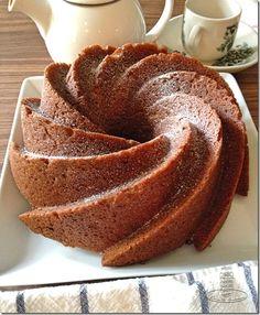 Banana bundt cake. Dorie Greenspan's recipe. Sinfully rich and moist.