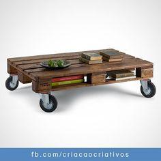 Palette table basse + range magasine