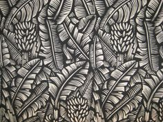 Banana Grove fabric by Bruce Goold