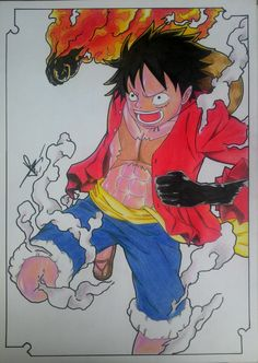 Monkey D. Luffy - Straw Hat Pirates