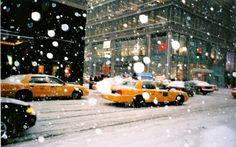 Winter, New york, Snow, United States