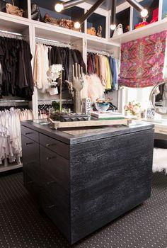 Cara Loren bohemian closet