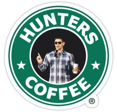A Supernatural twist on the classic Starbucks logo, featuring Jensen Ackles. • Also buy this artwork on stickers, apparel, phone cases, and more.