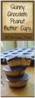 Trim Healthy Mama: Skinny Chocolate Peanut Butter Cups