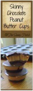 Trim Healthy Mama: Skinny Chocolate Peanut Butter Cups