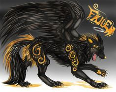 Comments on Black winged wolf - Other Wallpaper ID 528208 ...