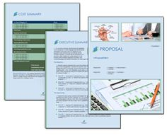 Proposal Pack Financial #4 - Editable and customizable templates in this design…