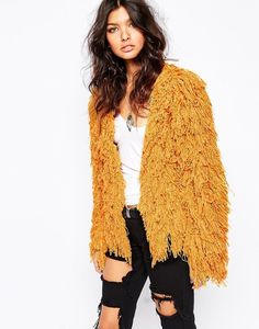 Lovers Drifters Shaggy Fur Jacket