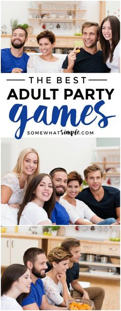 Couples Dinner Party Games Fun Ideas For 2019 Adult Party Games, Dinner Party Games For Adults, Couple Party Games, Game Night Parties, Family Party Games, Group Games For Kids, Holiday Party Games, Birthday Party Games, Adult Games