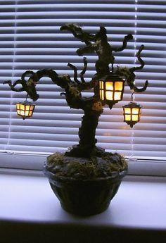 Светильники из полимерной глины от snowmade