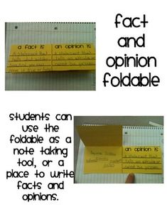 Fact and Opinion {FREEBIE} - Amber Polk - TeachersPayTeachers.com