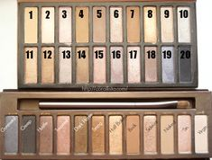 Urban Decay Naked Palette Dupe - Coastal Scents Revealed Palette