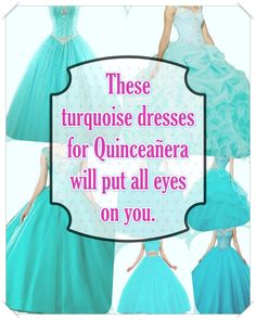 See more choices about Turquoise Quinceanera {dresses Turquoise Quinceanera Dresses, Turquoise Dress, Quince Dresses, Your Perfect, All About Eyes, True Colors, Looking For Women, Dress For You, Beautiful Day