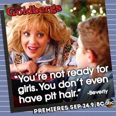 #Beverly #TheGoldbergs