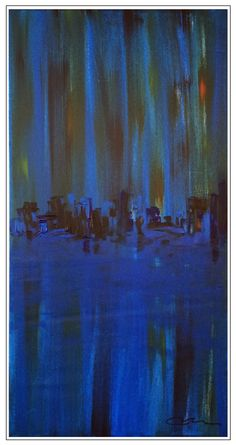 """""""Urban Ruins"""",..acrylic on stretched canvas...57"""" x 29""""...Exclusively Mac Worthington Studio In the very heart of Columbus' art district 749 N. High Street, Columbus, Ohio"""