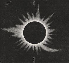 G. Tempel, Drawings of the 1860 eclipse; Fourteen Weeks in Descriptive Astronomy (J. Dorman Steele), Barnes & Co., NY, 1873.