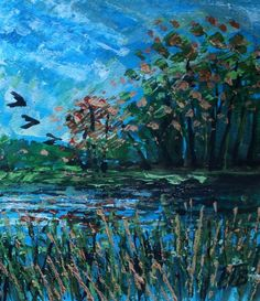 Buy Buriton Pond IV, Acrylic painting by Paul J Best on Artfinder. Discover thousands of other original paintings, prints, sculptures and photography from independent artists.