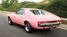 An enthusiast has lovingly restored the 1968 AMC AMX bestowed on the Playmate of the Year. Best American Cars, Victoria, Car Pictures, Cool Photos, Paradox, Type 3, Badass, Theater, Facebook