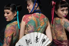 https://flic.kr/p/YKhUSm | great tang Tatto | Sunday 24th dept 2017 ,tobbaco dock london  2pm.  London tattoo convention, 2017 #ltc2017, one of the international tatoo artists works being modeled fro the tattoolife magazines 13th Annual event , a perfect showcase of body inks and skin