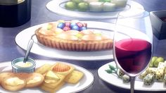 cheese-crackers-fruit-tart-wine-death-parade-12.png (1152×648)