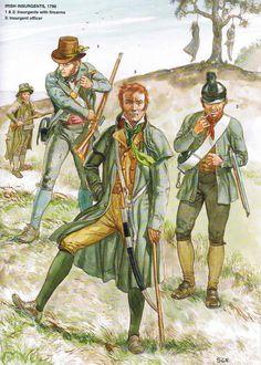 United Irishmen rebels--1798