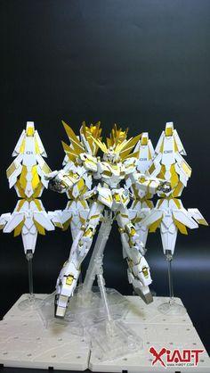 Custom Build: MG 1/100 Unicorn Gundam Phenex Remake - Hyper Real Phoenix Ver. 2.0 - Gundam Kits Collection News and Reviews