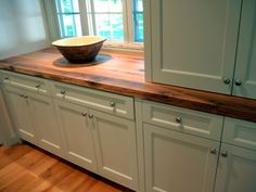 Counter Tops - Wood Kitchen Countertops - Recycled Countertops: Elmwood Reclaimed Timber