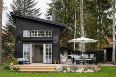 Мечта романтика: маленький домик на берегу озера | Пуфик - блог о дизайне интерьера