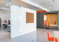 sliding whiteboards... CHA:COL creates tech incubator space in California