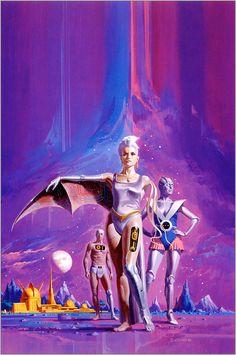 Retro-Futuristic, sci-fi art