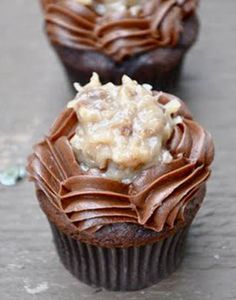 German Chocolate Cupcakes by Your Cup of Cake
