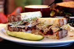 Thanksgiving sandwich. #Foodies
