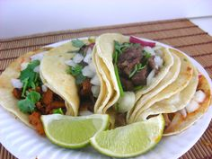 Yum, street tacos!