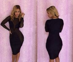 Free shipping 2014 new sexy bodycon bandage dress long sleeve Lace women party evening vestido one piece club dresses CD056 $11.99