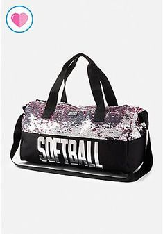 Softball Flip Sequin Duffle Bag Softball Shoes, Softball Mom, Softball Bags,  Fastpitch Softball 383a74476a