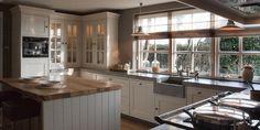 Klassieke, landelijke keuken