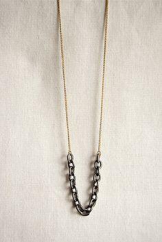 Nautical Necklace  Silver Rope Jewelry  Spring by SPARKLEFARM, $24.00