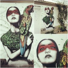 Amazing street art by Irish artist Fin Dac