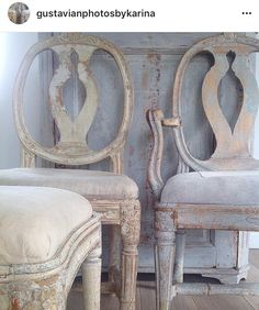 gustavianphotosbykarina Like These Chairs - the shape