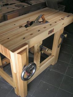 Camil Milincu's XX Small Split Top Roubo suitable for garage use.
