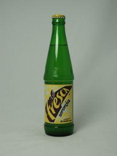 12oz glass Fresca soda WISH THEY STILL MADE THIS!!