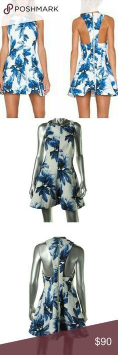 Keepsake Dress🎉🎉🎉Coming soon 4/11 Floral racerback Keepsake party dress!!! KEEPSAKE the Label Dresses Mini